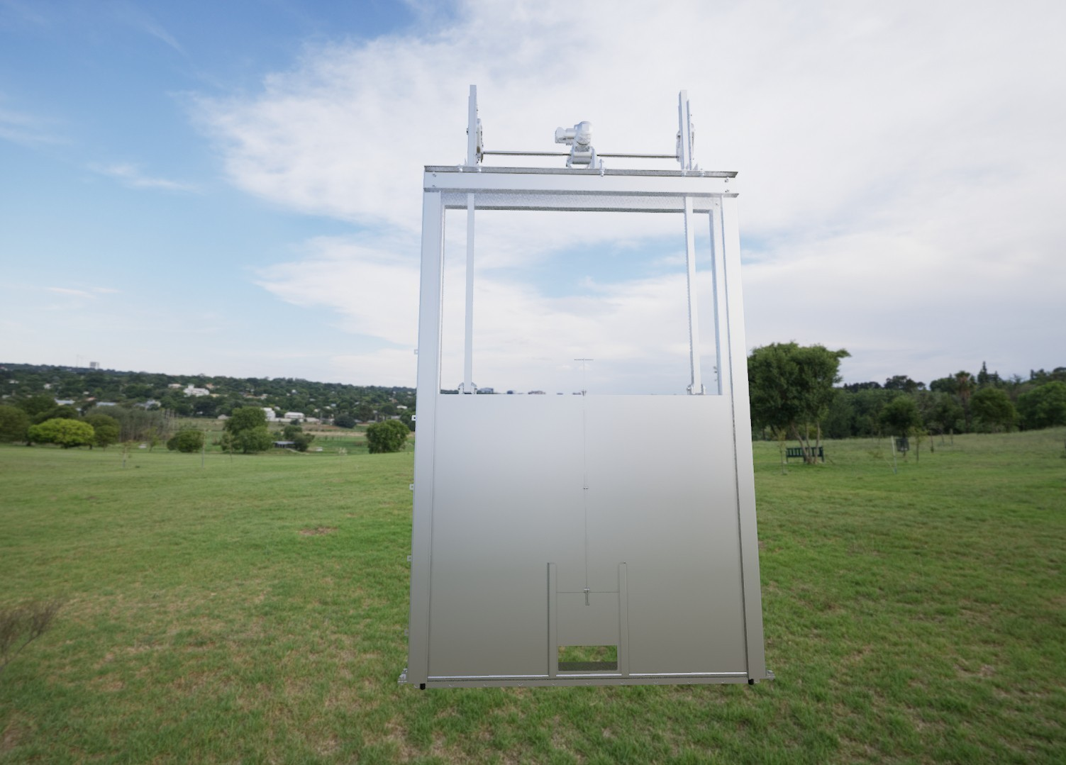 Intake gate