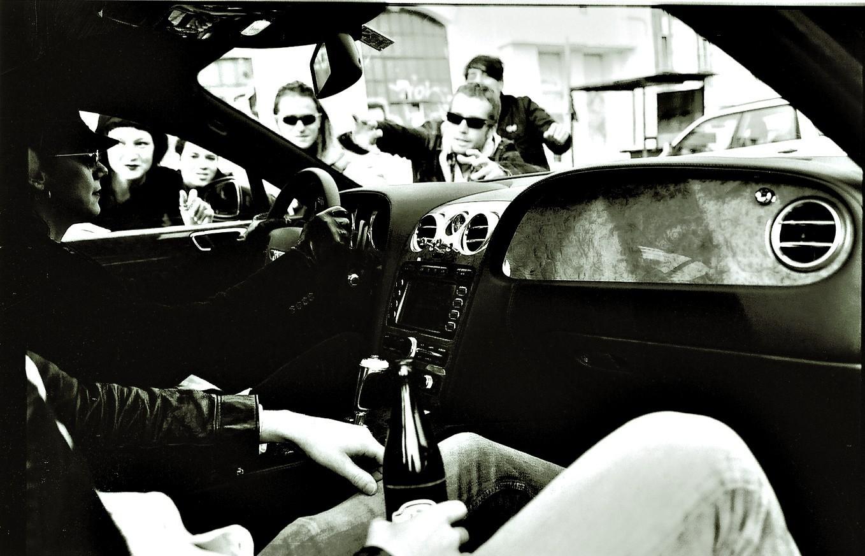 Auto und Band © Aleksandra Pawloff