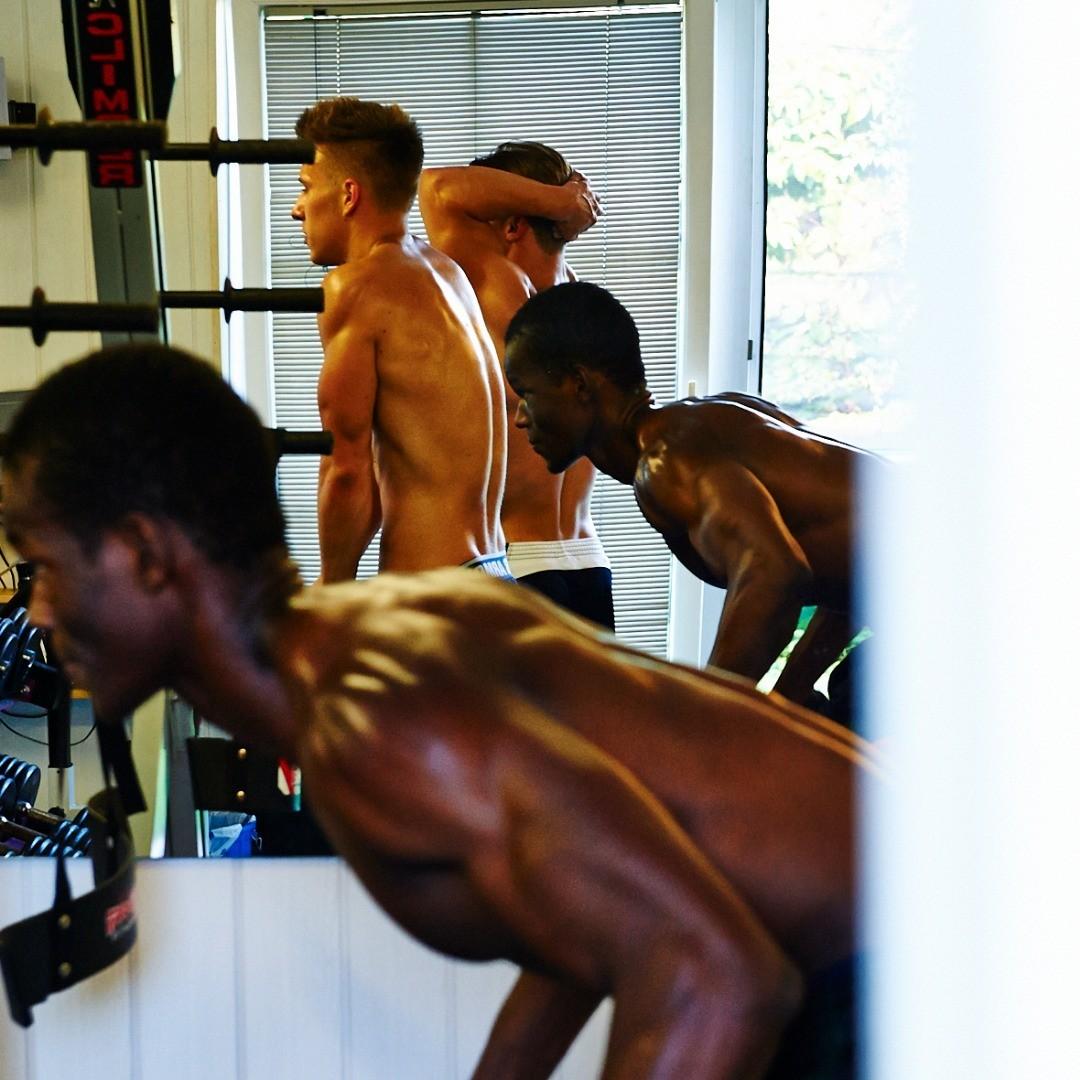 Im Training © Aleksandra Pawloff